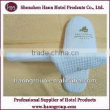 hotel and resort disposable latest design waffle white slippers wholesale bulk