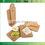 6pcs Bamboo Chopping Cutting Slicing Boards With Display Stand