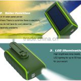 2016 new arrive hand dynamo solar mobile battery charger , hand dynamo cell phone charger