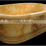 Natural Stone Marble Bathtub Price For Sale
