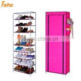 2015 China shoe closet storage shelves with water proof fabric (FH-FR00709)