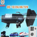 Low voltage dc air conditioner compressor for 12v/24v cab a/c of truck electric-vehicle truck cab mining construction machine