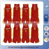 2016 basketball uniform design red/basketball uniform design/basketball jersey pictures