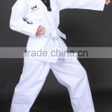 UWIN High quality V-Black teakwondo uniform/high school uniforms