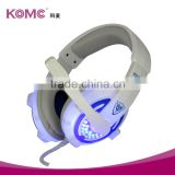 PC USB Over Ear Stereo Gaming Headsets Headphones with Microphone LED Lights for PC Mac Gamers