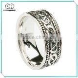 Made in China silver celtic knot ring