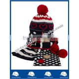 wholesale china manufacture supplier cashmere hot new product for 2015 fashion alibaba uae poncho knit scarf and hat winter set