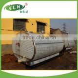 China fresh milk cooling tank used in dairy farm