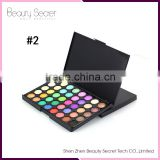 Newest Cheap Romantic color Makeup Shinning Eye Shadow 40 colors Mixed Glitter Matte Eyeshadow Palette