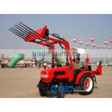 204 model 20HP small tractor High quantity farm equipment used tractor for sale with 4 in 1 Front end loader
