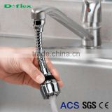 Doflex Faucet Sink Hose ACS SGS CE Quality Certificated Stainless Steel Collapsible Popular kitchen faucet connector water hose