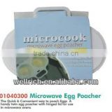 01040300 Microwave Egg Poacher