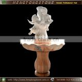 Decorative Stone Indoor Water Fountain With Angel