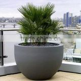 CHY050903 Outdoor fiberglass flower pot/high quality flower planter/decorative flower vase