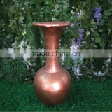 Fiberglass bronze color vase / decorative vase