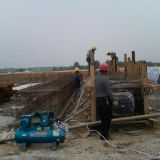 inflated formwork used for culvert making, inflatable rubbr formwork