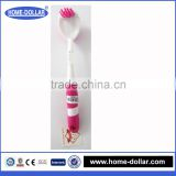 new products double hockey of indian cleaning tools of plastic brush/household clean brush/bathroom brush toilet brush