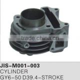 Motorcycle parts & accessories cylinder/engine for GY6-50
