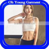 New fitness womens underwear breathable sexy bra and panty new design sports bra bra set online shopping india