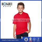 OEM service wholesale kids polo neck tshirts