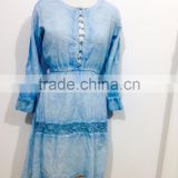 LADIES KAFTAN WOMEN BEACHWEAR LOUNGEWEAR LACE BEAUTIFUL