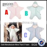 MGOO Stock Boutique Outfits Baby Infant Rompers Toddles Starfish Cotton Winter Custom Design Baby Clothes