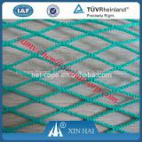 Polyethylene raschel knotless netting for fishing and aquaculture and agriculture netting