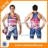 Sublimated wholesale wrestling singlet, mens wholesale wrestling singlet