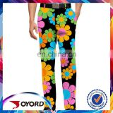2017 Modern style colorful golf trousers Joyord hot selling golf pants for men