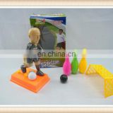 plastic shooting football player toy,soccer players toys
