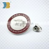 wholesale soft enamel custom metal memorial badge buttons