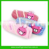 Promotional Cute Design Velvet Pencil Bag