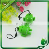 green color mobile charm