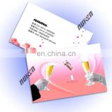 Customized PET/PP 3d lenticular business card