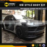 Auto tuning parts FRP Material 958 HM Style Wide Body Kit For Porsch-e Cayenn-e 958 Body Kit