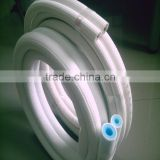 stretchable flexible insulation pipe for air condition/fireproof foam air condition tube