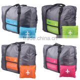 Waterproof Foldable Super Lightweight Large Capacity Storage Luggage Bag for Travel Camping, Sports Gear or Gym, Can Attach on t