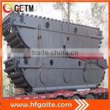 New products Amphibious pontoon Construction machinery Doosan motor Amphibious excavator undercarriage