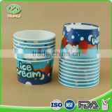 New design eco-friendly food grade icecream paper cup                                                                                                         Supplier's Choice