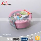 0.42l fashion plastic round seal food container, seal box for houseware                                                                                                         Supplier's Choice