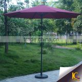 High quality iron frame beach umbrella promotional outdoor parasol without base                                                                         Quality Choice
