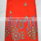 african raw silk george fabric indian george lace fabric j196-3