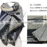 fashion winter knitting scarf men acrylic warm scarfs galling 100% cashmere scarf
