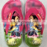 wholesale kids mouse slippers beach shoes snow white bath slippers flip flops