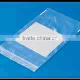 Transparent Plastic LDPE Reclosable Ziplock poly Bag