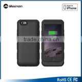 New mobile accessories for Iphone 6 case battery pack 3200mAh Lithium polymer with CE RoHS FCC approval