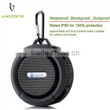 (Factory Supply) Small body waterproof speaker bluetooth, Speaker outdoor using, waterproof bluetooth speaker