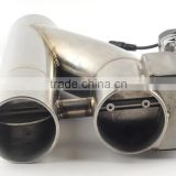 2.5 INCH REMOTER EXHAUST CUTOUT WITH TWO VALVE