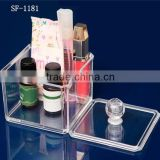 Customise small and clear plastic box for jewellery,craft