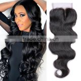 wholesale price body wave toupee lace closure 4x4 toupee for women Crochet 100% pure human hair body wave